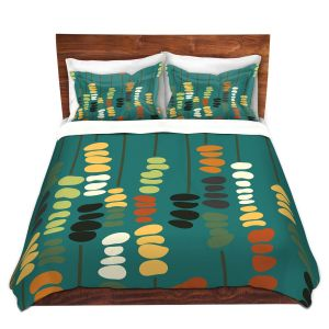 Artistic Duvet Covers and Shams Bedding   Olive Smith - Sticks and Stones 1   Rocks Nature Patterns