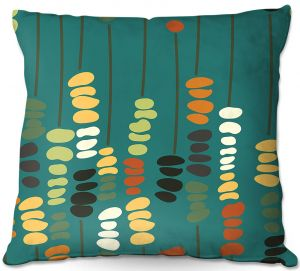 Throw Pillows Decorative Artistic | Olive Smith - Sticks and Stones 1 | Rocks Nature Patterns