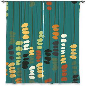 Decorative Window Treatments | Olive Smith - Sticks and Stones 1 | Rocks Nature Patterns