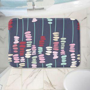 Decorative Bathroom Mats | Olive Smith - Sticks and Stones 2 | Rocks Nature Patterns