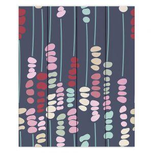 Decorative Wood Plank Wall Art   Olive Smith - Sticks and Stones 2   Rocks Nature Patterns
