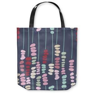 Unique Shoulder Bag Tote Bags | Olive Smith - Sticks and Stones 2 | Rocks Nature Patterns
