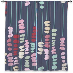 Decorative Window Treatments | Olive Smith - Sticks and Stones 2 | Rocks Nature Patterns