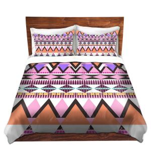 Artistic Duvet Covers and Shams Bedding   Organic Saturation - Colorful Dream Nativo
