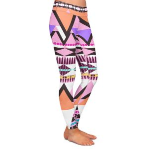 Casual Comfortable Leggings | Organic Saturation Colorful Dream Nativo
