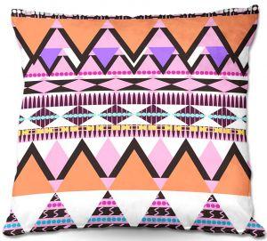 Throw Pillows Decorative Artistic | Organic Saturation's Colorful Dream Nativo