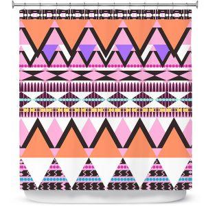 Premium Shower Curtains | Organic Saturation Colorful Dream Nativo