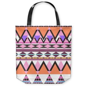 Unique Shoulder Bag Tote Bags | Organic Saturation Colorful Dream Nativo