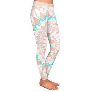 Casual Comfortable Leggings | Organic Saturation - Feather Star Mandala