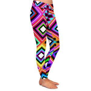 Casual Comfortable Leggings | Organic Saturation Fiesta Native Inspired