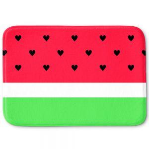 Decorative Bathroom Mats   Organic Saturation - I Love Watermelon