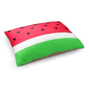 Decorative Dog Pet Beds | Organic Saturation's I Love Watermelon