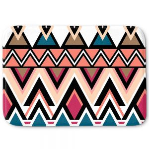 Decorative Bathroom Mats | Organic Saturation - Mountain Nativo Tribal
