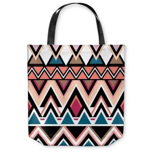 Unique Shoulder Bag Tote Bags | Organic Saturation Mountain Nativo Tribal