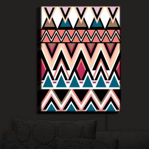 Nightlight Sconce Canvas Light | Organic Saturation - Mountain Nativo Tribal