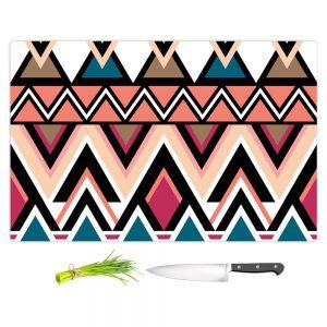 Artistic Kitchen Bar Cutting Boards | Organic Saturation - Mountain Nativo Tribal
