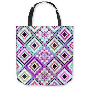 Unique Shoulder Bag Tote Bags   Organic Saturation Pastel Native Inspired