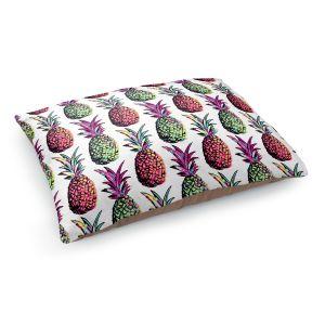 Decorative Dog Pet Beds | Organic Saturation's Pineapple Party