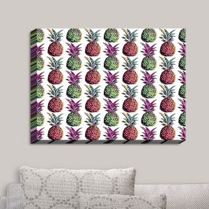 Decorative Canvas Wall Art | Organic Saturation - Pineapple Party