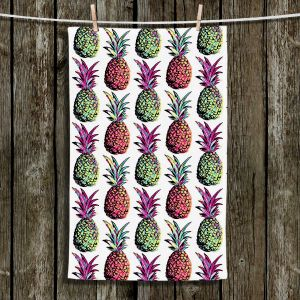 Unique Bathroom Towels | Organic Saturation - Pineapple Party