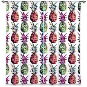 Decorative Window Treatments | Organic Saturation Pineapple Party