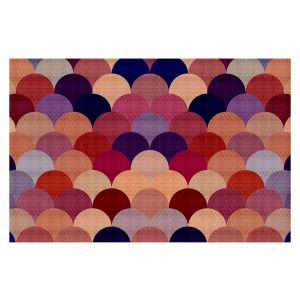Decorative Floor Coverings | Organic Saturation Tan Scales Pattern