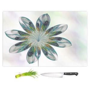 Artistic Kitchen Bar Cutting Boards | Pam Amos - De Bois 7 | Abstract Flower