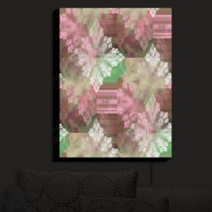 Nightlight Sconce Canvas Light | Pam Amos - Crystal in Pink
