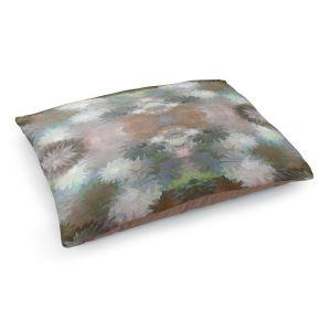 Decorative Dog Pet Beds | Pam Amos - Daisy Blush 1 Autumn | repetition geometric mandala flower