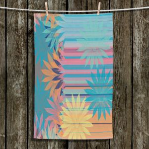 Unique Hanging Tea Towels | Pam Amos - Delicious Tropical | pattern digital flowers
