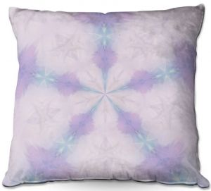 Throw Pillows Decorative Artistic | Pam Amos - Emerald Opal | Geometric pattern repetition