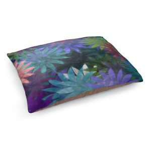 Decorative Dog Pet Beds | Pam Amos - Forest Flowers 1 | Floral pattern abstract