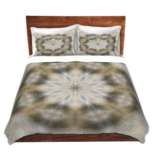 Artistic Duvet Covers and Shams Bedding   Pam Amos - Lace Kaleidoscope   Pattern circular geometry