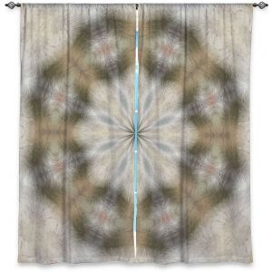Decorative Window Treatments | Pam Amos - Lace Kaleidoscope | Pattern circular geometry