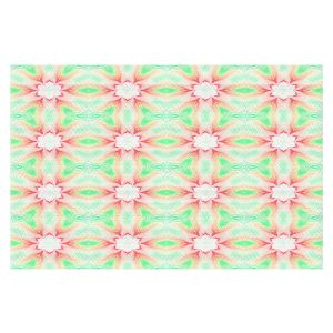 Decorative Floor Covering Mats | Pam Amos - Lace Ripples 2 | Geometric pattern