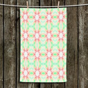 Unique Bathroom Towels | Pam Amos - Lace Ripples 2 | Geometric pattern