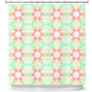 Premium Shower Curtains | Pam Amos - Lace Ripples 2 | Geometric pattern