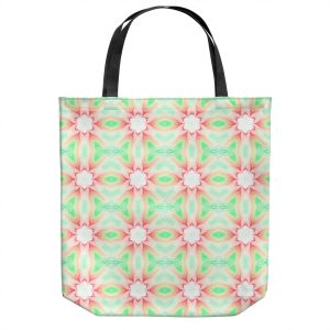 Unique Shoulder Bag Tote Bags | Pam Amos - Lace Ripples 2 | Geometric pattern