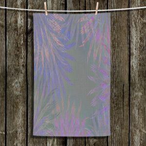 Unique Bathroom Towels | Pam Amos - Leaves 5 | digital nature silhouette