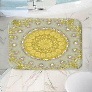 Decorative Bathroom Mats | Pam Amos - Opal | Pattern mandala circular geometry