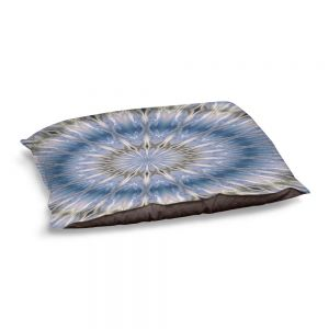 Decorative Dog Pet Beds | Pam Amos - Opal Slice 2 | Mandala shapes geometric
