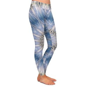 Casual Comfortable Leggings | Pam Amos - Opal Slice 2 | Mandala shapes geometric