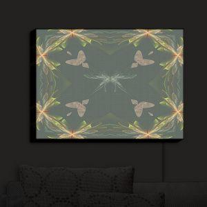 Nightlight Sconce Canvas Light | Pam Amos - Orchid Green