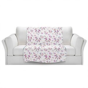 Artistic Sherpa Pile Blankets   Pam Amos - Rainbow Levels 3   repetition geometric mandala flower