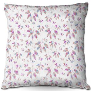 Throw Pillows Decorative Artistic | Pam Amos - Rainbow Levels 3 | repetition geometric mandala flower