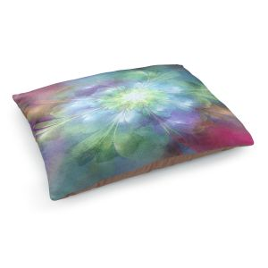 Decorative Dog Pet Beds | Pam Amos - Softly Whispers 2 | Abstract pattern