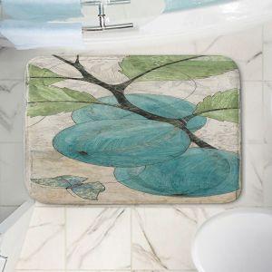 Decorative Bathroom Mats | Paper Mosaic Studio - Blue Bells