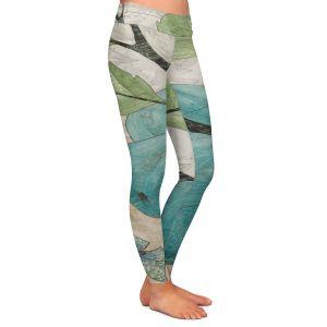 Casual Comfortable Leggings | Paper Mosaic Studio - Blue Bells