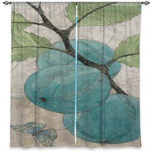 Decorative Window Treatments   Paper Mosaic Studio - Blue Bells