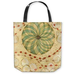 Unique Shoulder Bag Tote Bags | Paper Mosaic Studio - Circle Love